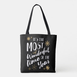 It's the Most Wonderful Time of Year - Totebag Tote Bag