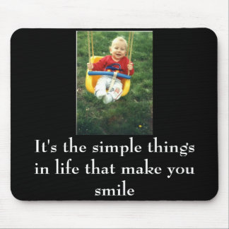 It's the simple things.... mouse pad