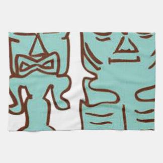 It's Tiki Time! Tea Towel