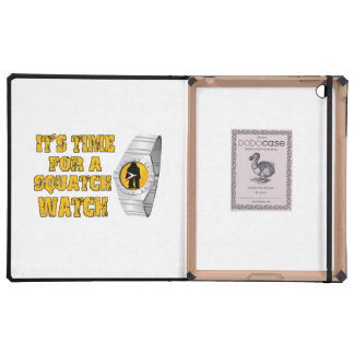 It's Time For A Squatch Watch Covers For iPad