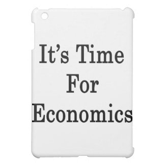 It's Time For Economics Cover For The iPad Mini