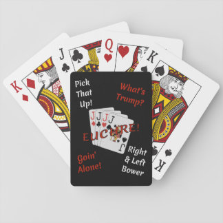 It's Time For Euchre! Playing Cards