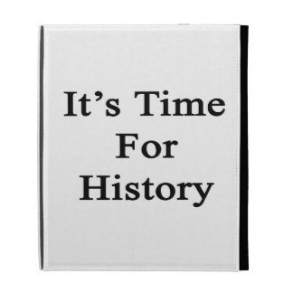 It's Time For History iPad Cases