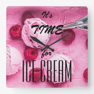 It's time for icecream clocks