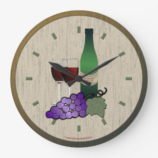 It's Time for Wine Clock