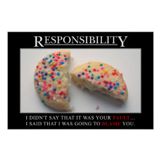 It's time for you to take responsibility (S) Poster
