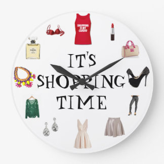 It's Time shopping clock