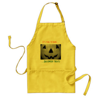 """It's Time to Bake Halloween Treats!"" Standard Apron"