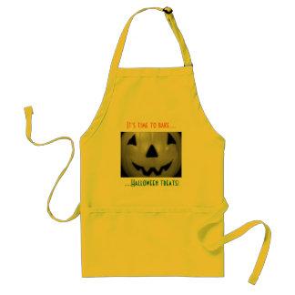 """It's Time to Bake Halloween Treats!"" Standard Apron"