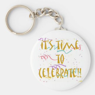 It's Time To Celebrate!! Keychains