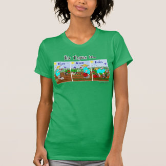 It's Time to Plant, Grow, Relax - Ruthie's Garden T-Shirt