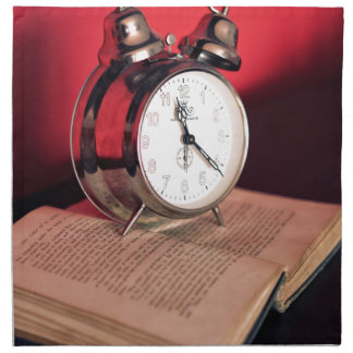 It's Time to read a Book Cloth Napkin