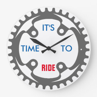 It's Time To Ride Clock