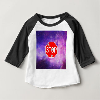 its time to stop filthy frank stop sign galaxy baby T-Shirt
