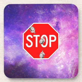 its time to stop filthy frank stop sign galaxy coaster