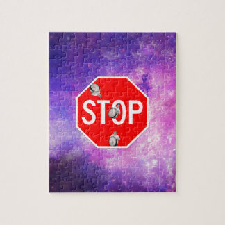 its time to stop filthy frank stop sign galaxy jigsaw puzzle