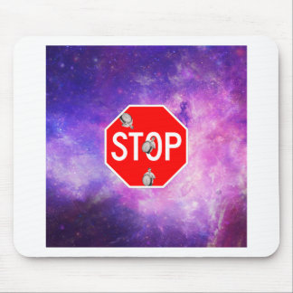 its time to stop filthy frank stop sign galaxy mouse pad
