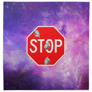 its time to stop filthy frank stop sign galaxy napkin