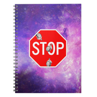 its time to stop filthy frank stop sign galaxy notebook