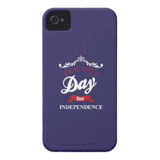 It's to beautiful day for Independence iPhone 4 Case
