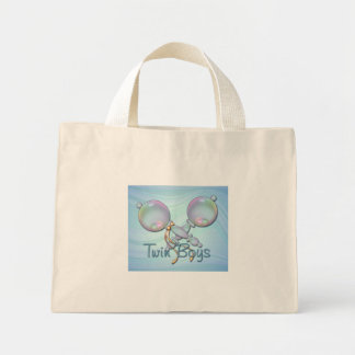 IT'S TWIN BOYS BABY RATTLE by SHARON SHARPE Bag