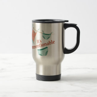 Its Unmentionable Stainless Steel Travel Mug