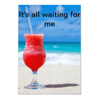It's waiting for you card