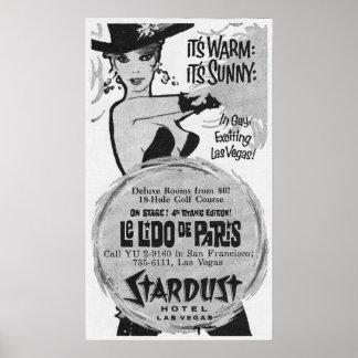 It's Warm-It's Sunny, Stardust Las Vegas Poster