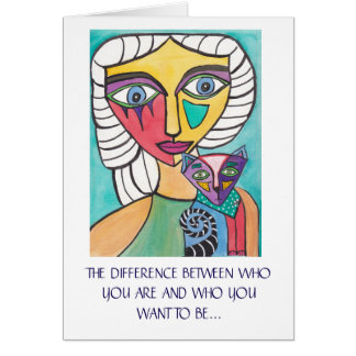 """""""It's What You Do"""" Inspirational Greeting Card"""