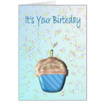 It's Your Birthday Cupcake Card