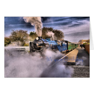 It's your Birthday, Steam Train Card