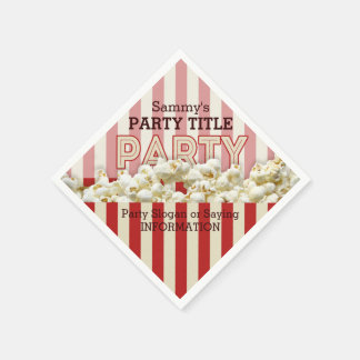 It's Your Custom Party Napkins Personalize This! Disposable Serviettes