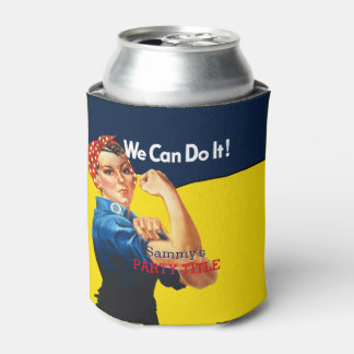 It's Your Custom Rosie Party Personalize This Can Cooler