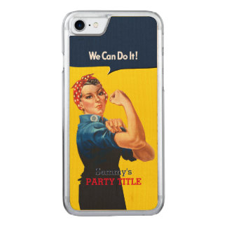 It's Your Custom Rosie Party Personalize This Carved iPhone 8/7 Case