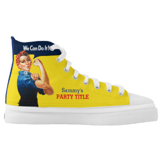 It's Your Custom Rosie Party Personalize This High Tops