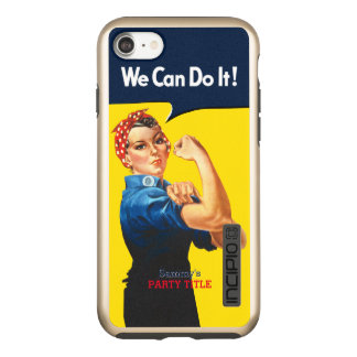 It's Your Custom Rosie Party Personalize This Incipio DualPro Shine iPhone 8/7 Case