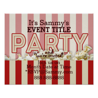 It's Your Personalized Party Supply. Poster