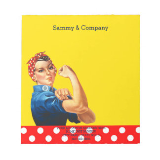 It's Your Personalized Rosie Party Supply Notepad