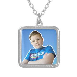 itsAstream collar square OFFICCIAL Square Pendant Necklace