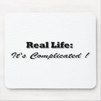itscomplicatedblack mouse pad