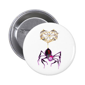 Itsy Bitsy Spider 6 Cm Round Badge
