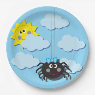 Itsy Bitsy Spider Party Plate