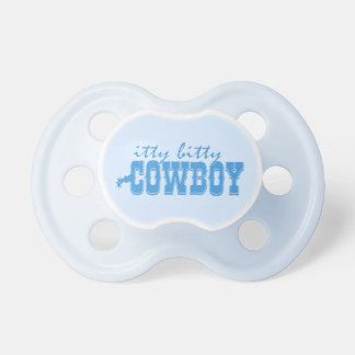 Itty Bitty Cowboy Pacifier