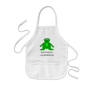 Itty Bitty Frog Apron