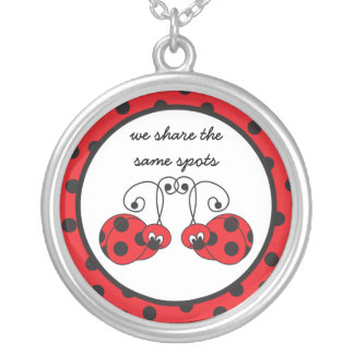 Itty Bitty Ladybug Best Friends Necklace