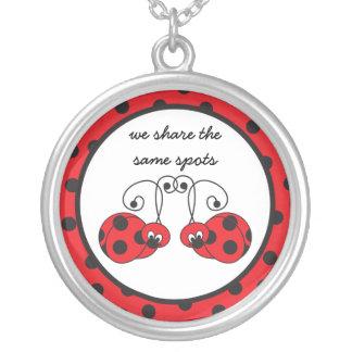 Itty Bitty Ladybug Best Friends Necklace