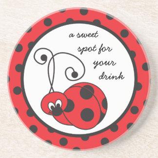 Itty Bitty Ladybug Coaster