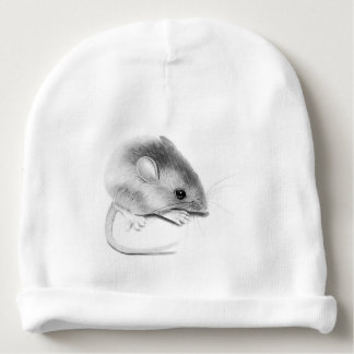 Itty Bitty Mouse Baby Beanie