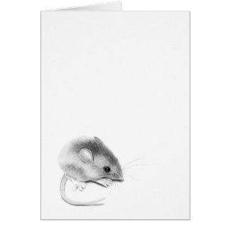 Itty Bitty Mouse Card