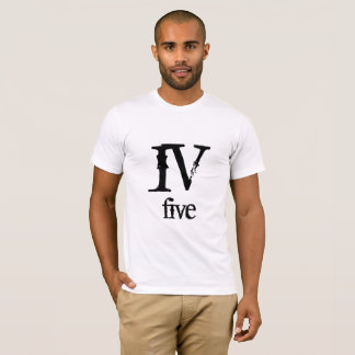 IV five roman number T-Shirt